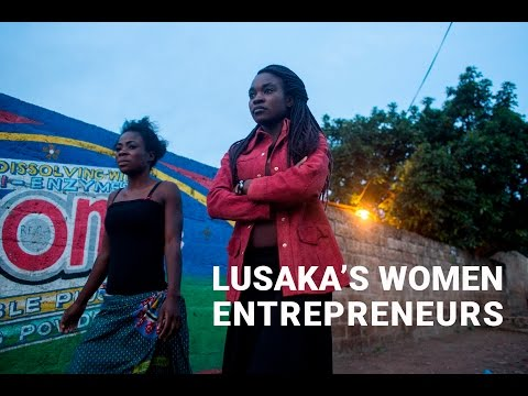 Lusaka's Young Women Entrepreneurs