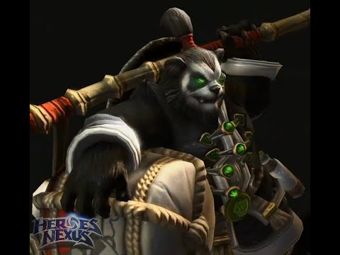 -NEW HERO- Chen Stormstout - Character Quotes, Ultimates and Skins- Heroes of the Storm!