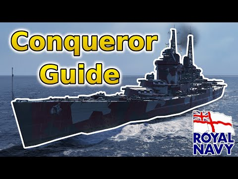 How To Play The Conqueror In World Of Warships | Wows Conqueror Guide