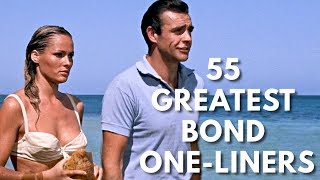 55 Greatest James Bond One-Liners