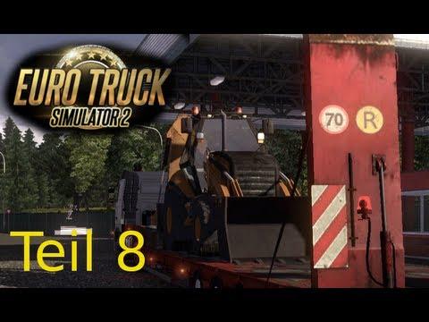 Let's Play Euro Truck Simulator 2 Teil 8 - Mit 620PS über die Autobahn