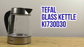 Розпакування TEFAL GLASS KETTLE KI730D30