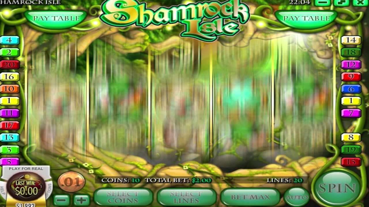Play Shamrock Isle Slot Machine Free With No Download