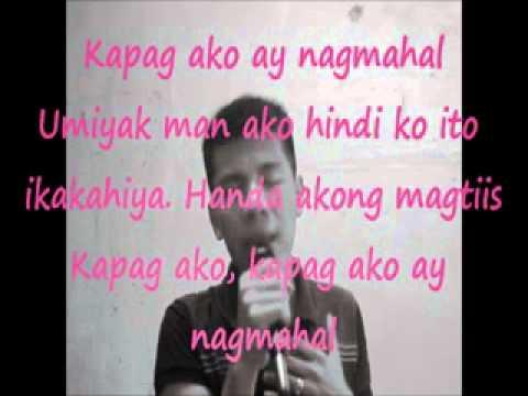 kapag ako ay nagmahal male version