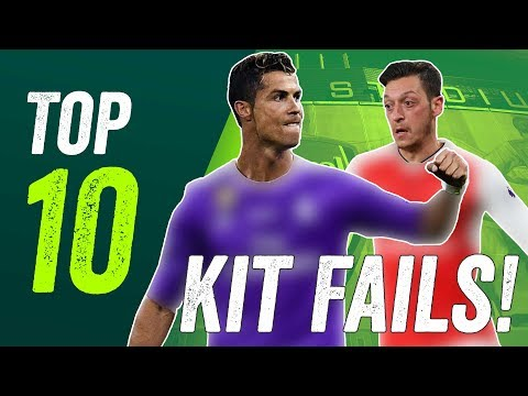Worst Kits of 2017-18 - Real Madrid, Arsenal, Liverpool and more!