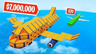 WHO CAN BUILD THE BEST PLANE CHALLENGE in FORTNITE!