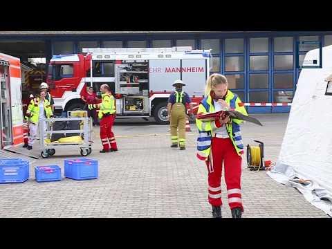 ASB übt Massenanfall von Verletzten am AB-MANV