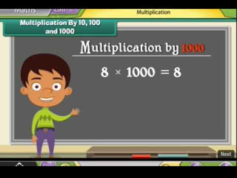 Class 3rd - Mathematics - Multiplication