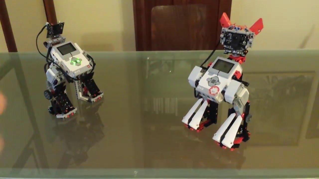 Camera Lego Nxt : Pixy cam powered lego mindstorms ev mecha twins youtube