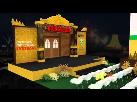 City of Charm Indonesia -  CA Expo Nanning China 2014 (3D Animation)