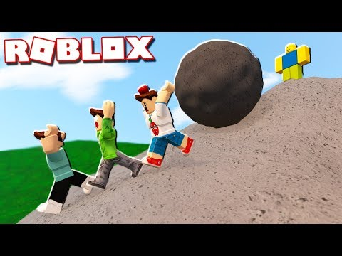 Roblox Adventures - CLIMB 9999 FEET UP THE HILL IN ROBLOX! (Climb the Hill)
