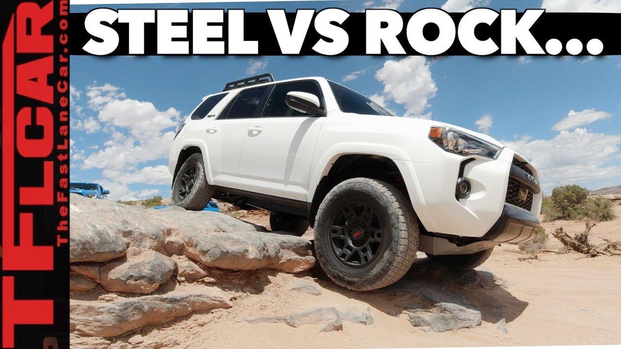 2020 Toyota 4Runner TRD Pro Vs  Hell's Revenge: Can Toyota's