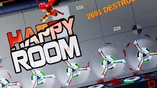 The Greatest Decapitating Meatgrinder - Happy Room - Lasers, Grenades, Acid- Let