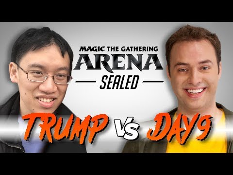Trump and Day9 Clash in Magic: The Gathering Arena