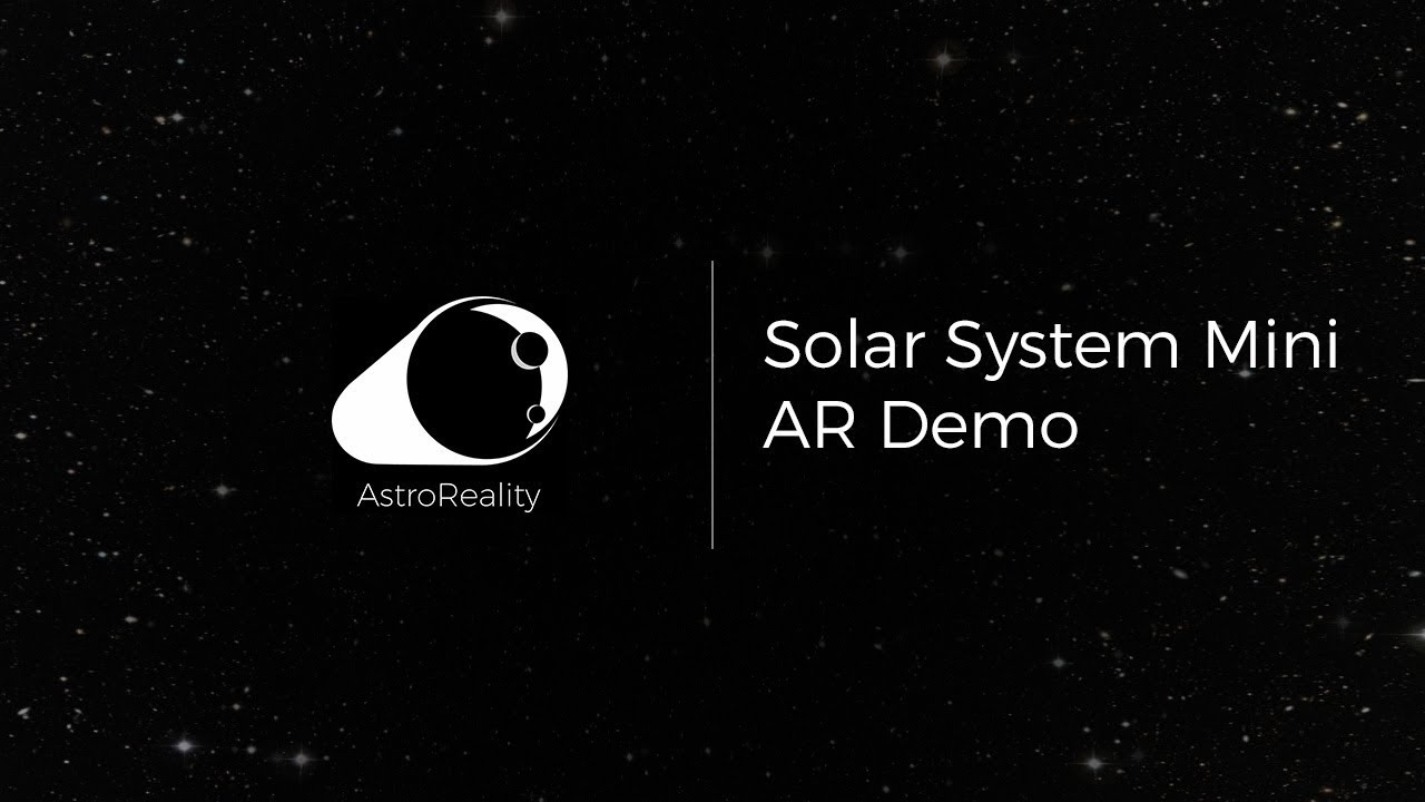 Explore the Solar System in Augmented Reality with Mini