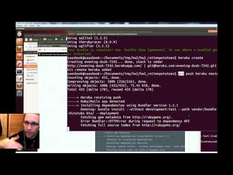 SaaS HW2 (CS169.1X) Rails Cheat Sheet
