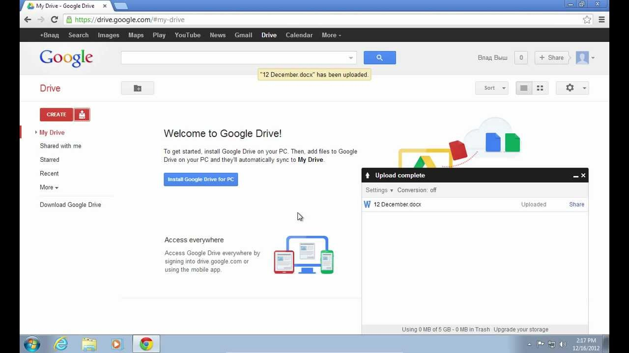 how to import word files to google docs