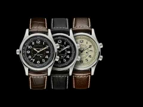 accc1c153 Khaki Navy UTC Auto | Hamilton Watch - YouTube