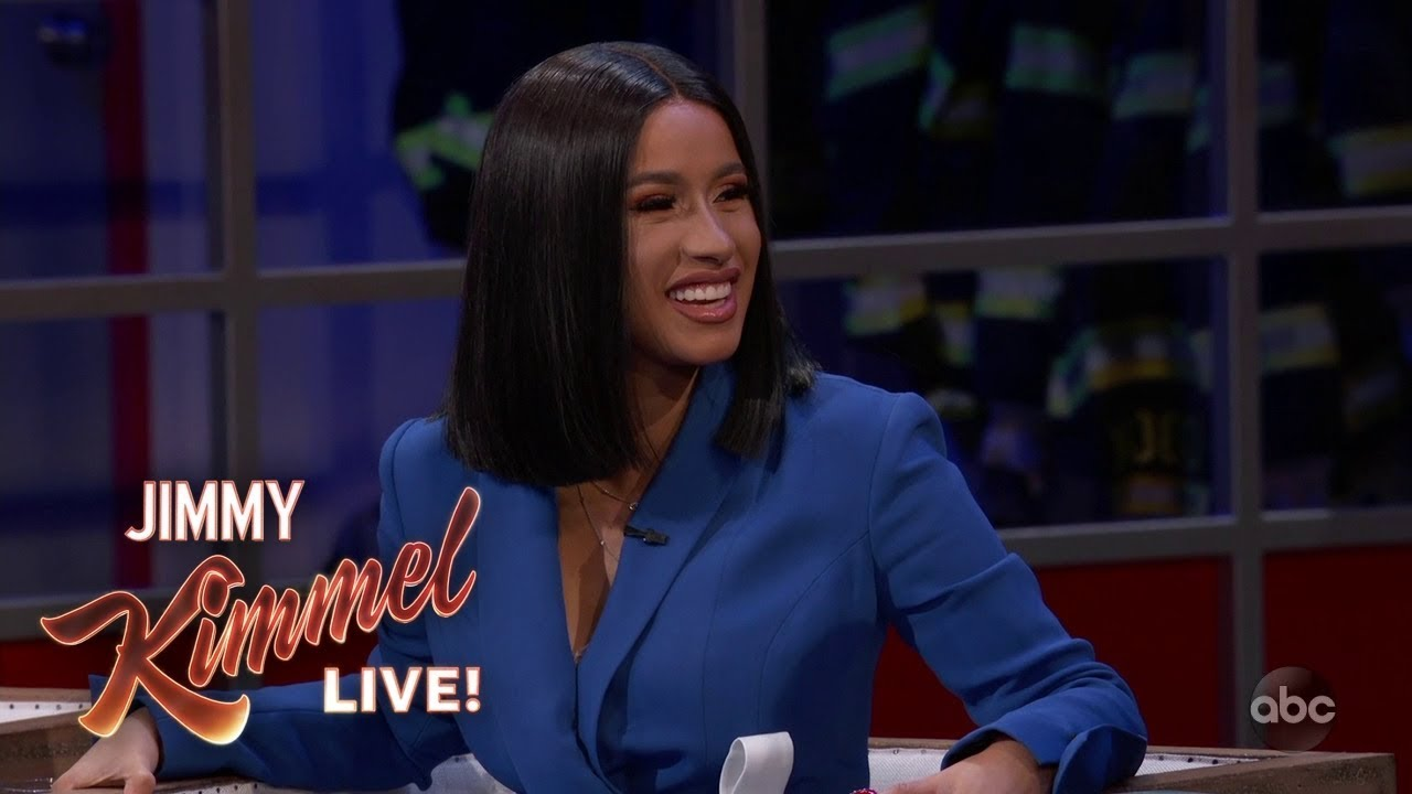 Can You Guess Which Part of Cardi B's Body Her Baby Broke?