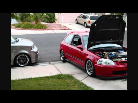 JDM Style Honda Civic EK 96-00 Hatchback Tribute - YouTube
