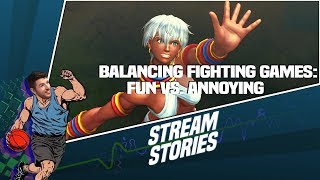 Balancing Fun vs. Frustration in Fighting Game Characters