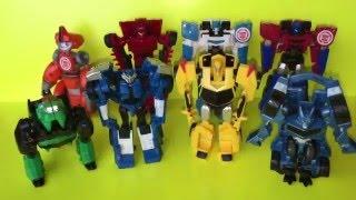 Трансформеры роботы под прикрытием! Роботы превращаются в машинки! Transformers Robots in Disguise!(Трансформеры роботы под прикрытием! Роботы превращаются в машинки! Бамблби, Стронгарм, Сайдсвайп, Фиксит,..., 2016-04-06T00:31:17.000Z)
