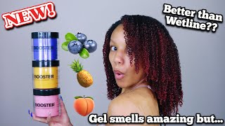 I Tried The NEW Style Factor Edge Booster Gel | Does It Work For Type 4 Natural Hair??