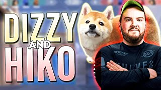 DIZZY AND 100T HIKO DOMINATE IN RANKED!