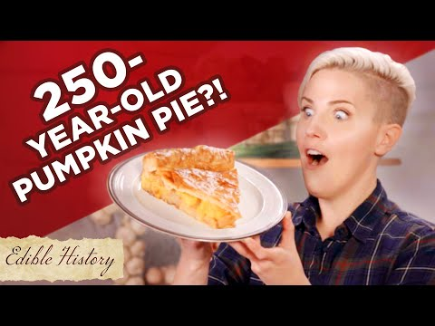 I Tried A 250-Year-Old Pumpkin Pie Recipe • Tasty