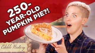 I Tried A 250-Year-Old Pumpkin Pie Recipe  Tasty