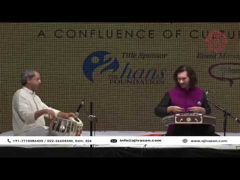 Santoor Maestros Rahul Sharma | Tabla Player Yogesh Samsi | Jugalbandi | The Legends 2017 | Ajivasan