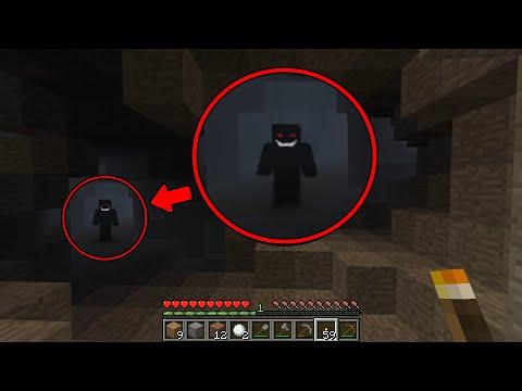 В этой пещере точно кто-то есть... (Minecraft Haunted Seed)