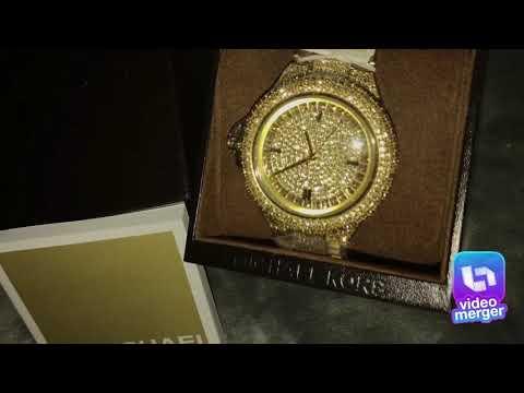 6a904abb9de9 Michael Kors woman s Camille MK5720 gold stainless steel Japanese quartz  fashion watch