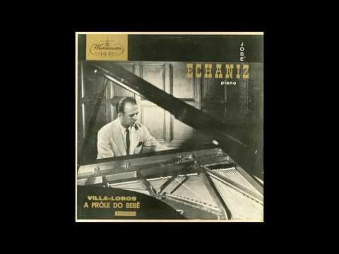 LP Villa-Lobos - A prole do bebê Vol.1 e Vol.2 (José Echániz, piano) (1955)