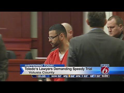 Luis Toledo's lawyers demand speedy trial