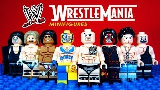 LEGO WWE Wrestle Mania KnockOff Minifigures World Wrestling Entertainment