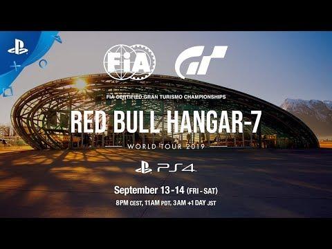 Gran Turismo - World Tour at Red Bull Hanger-7 Trailer   PS4