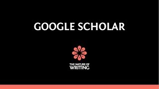 A Detailed Introduction to Google Scholar