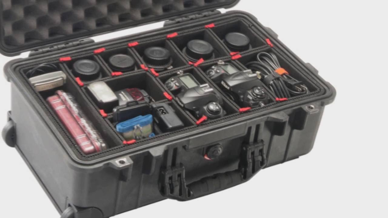 Pelican Case Featuring The Trekpak System Youtube