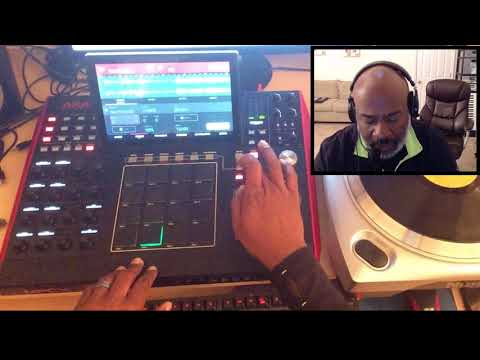 Akai MPC X and the 7 Minute Workout (no Maschine this time)