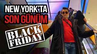 Last Day in NEW YORK! I Shopped In BLACK FRIDAY!