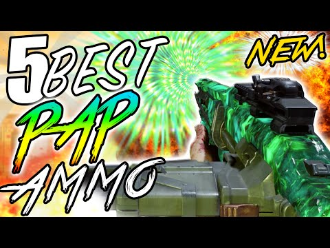 """'Top 5 PACK-A-PUNCH AMMO UPGRADES' in Black Ops 3 Zombies! """"Call of Duty BO3 Zombie Top 5"""" (COD BO3)"""
