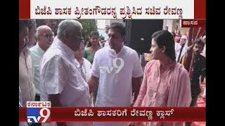 HD Revanna Pulled up a BJP MLA For Not Attending CM's Gandhi Jayanti Event in Hassan