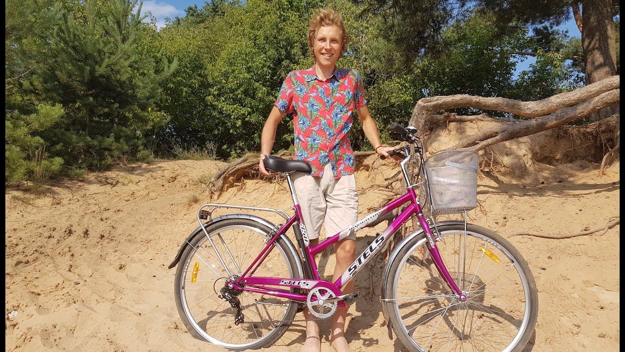 Велосипед stels navigator 350 lady 28 (z010) создан для ежедневных поездок по городу, на работу или по магазинам. Его конструкция, выполненная на.