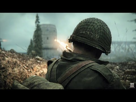 WW2 - Battle of Remagen - Securing Ludendorff Bridge & Soldier Rescue - Call of Duty WW2