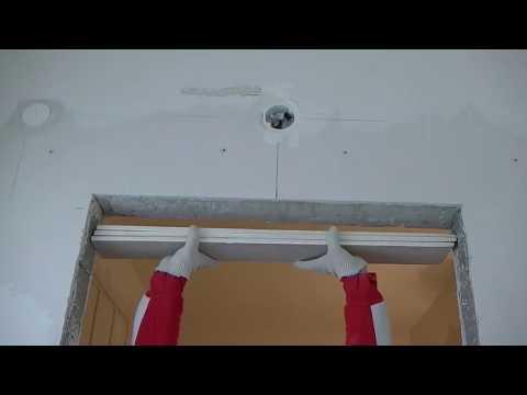 Как уменьшить дверной проем по ширине на 20 см