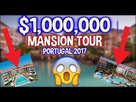 *CRAZY* $1,000,000 HOUSE TOUR - PORTUGAL!!!