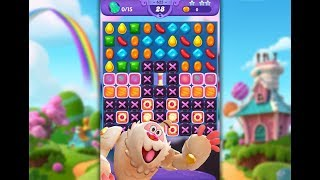 Candy Crush Friends Saga Level 625 (3 stars, No boosters)