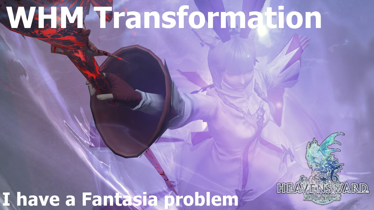 FFXIV: Cecily's Magic Girl WHM Transformation by Meaghan