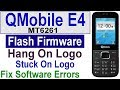 How To Flash QMobile E4 MT6261 Old Model With CM2, QMobile E4 Flash File, Download Firmware By Tahir